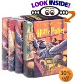 Harry Potter Hardcover Box Set (Books 1-4)