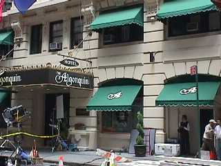 Pictures of the New York City Algonquin Hotel - Click Photo to go to the Search NYC Hotel New York Hotel List