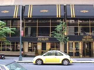 Pictures of the New York City Avalon Hotel - Click Photo to go to the Search NYC Hotel New York Hotel List