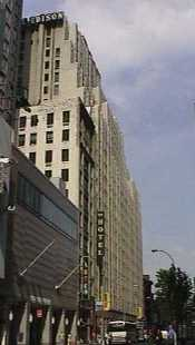 Pictures of the New York City Edison Hotel - Click Photo to go to the Search NYC Hotel New York Hotel List