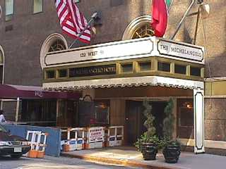 Pictures of the New York City Michelangelo Hotel - Click Photo to go to the Search NYC Hotel New York Hotel List