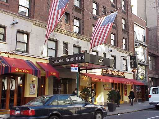 Pictures of the New York City Pickwick Arms Hotel - Click Photo to go to the Search NYC Hotel New York Hotel List