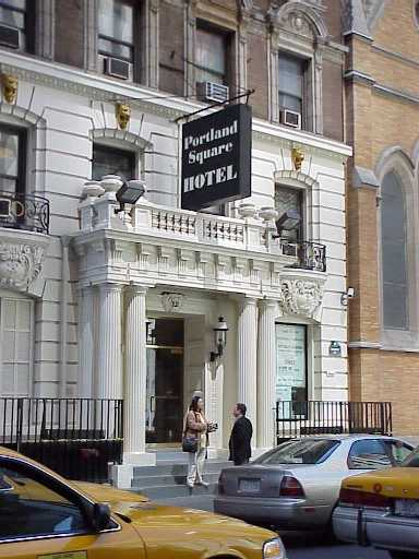 Pictures of the New York City Portland Square Hotel - Click Photo to go to the Search NYC Hotel New York Hotel List