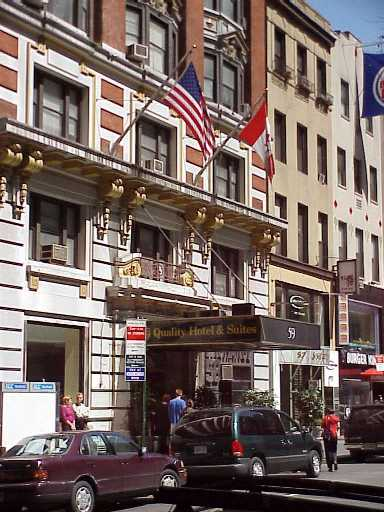 Pictures of the New York City Times Square Area Hotel - Super 8 - Click Photo to go to the Search NYC Hotel New York Hotel List