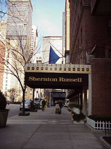 Pictures of the New York City Sheraton Russell Hotel - Click Photo to go to the Search NYC Hotel New York Hotel List