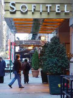 Pictures of the New York City Sofitel Hotel - Click Photo to go to the Search NYC Hotel New York Hotel List